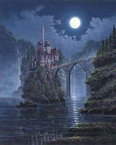 Beauty and the Beast - Siege of Beast Castle - Rodel Gonzalez - World-Wide-Art.com - $695.00 #Disney #RodelGonzalez