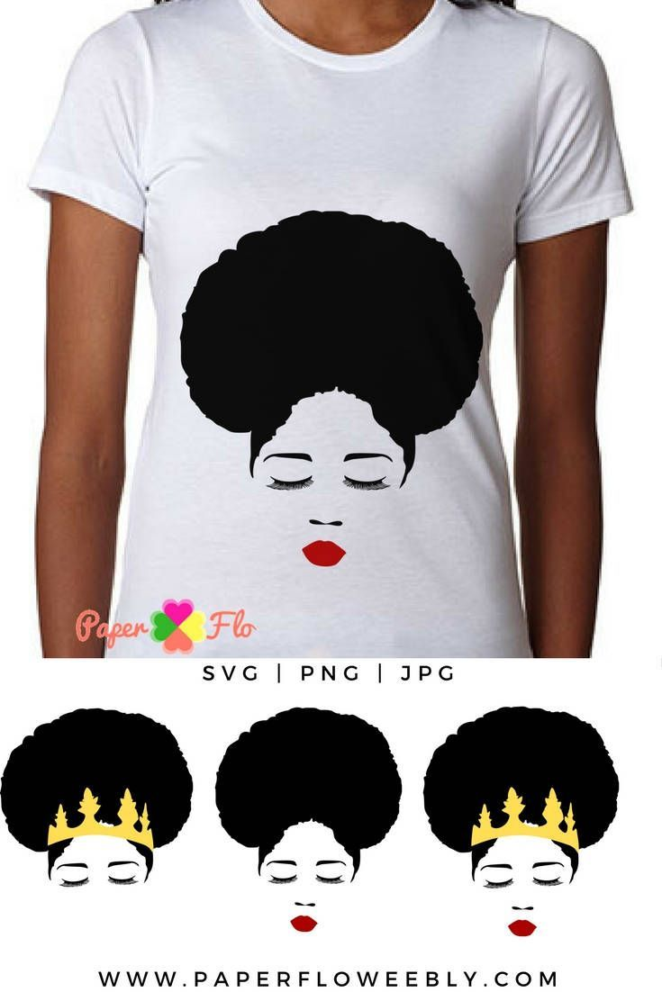 Afro hair SVG This afro svg is hand drawn and great for making tshirts, tumblers or any custom craft projects. #afrosvg #eyelashessvg #lipsSVG #faceclipart #blackgirlsvg #africanamericansvg #paperflodesign #blacknaturalhair #digitalartvinyl #decaltshirtdesign