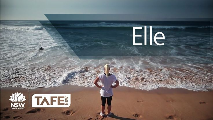 Northern Sydney TAFE is famous for fitness training. Elle knew it too!
