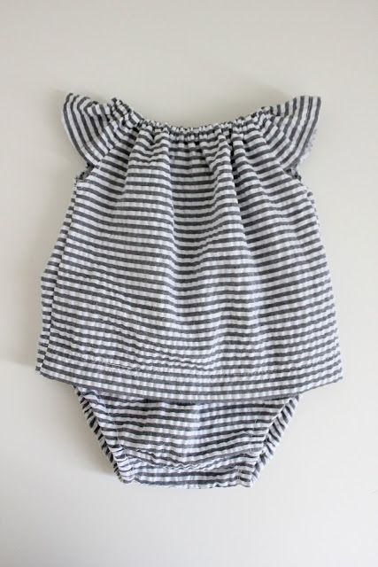 Homemade Baby Clothes.