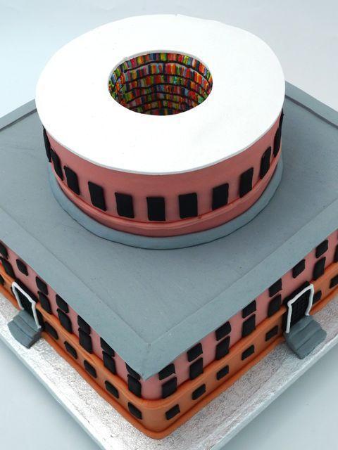 stockholm library cake