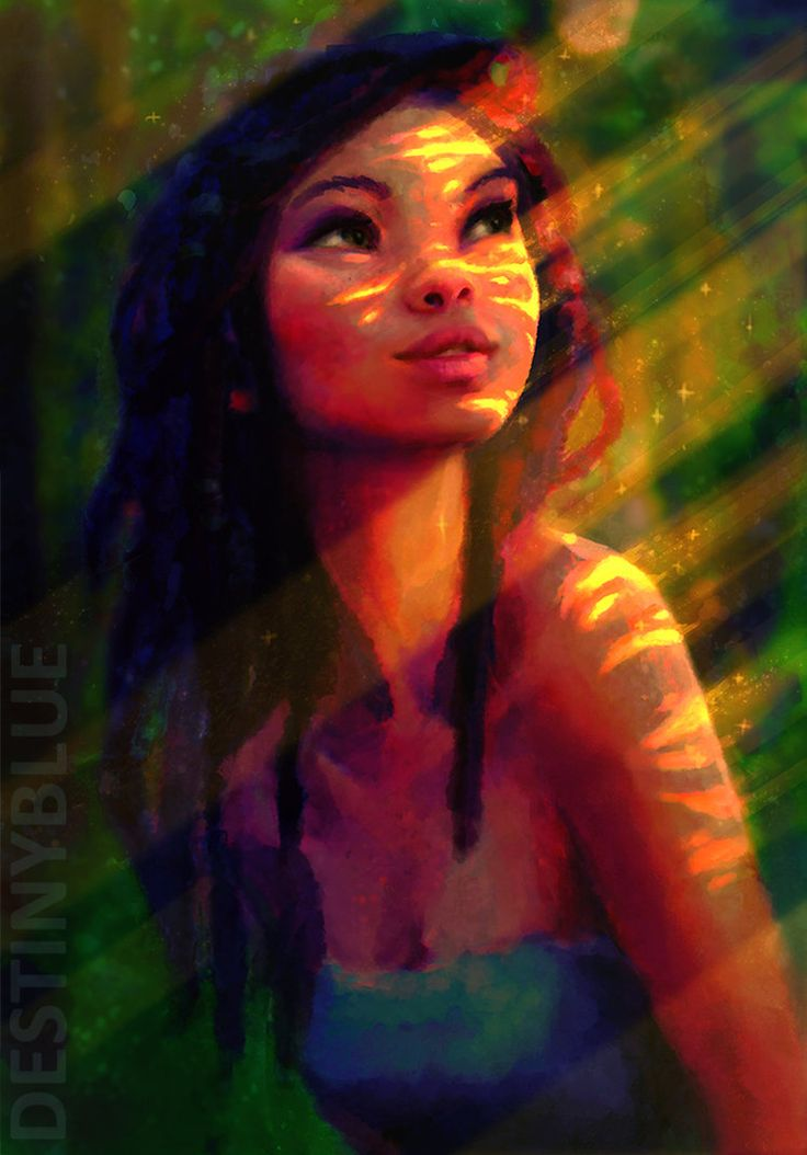 Burning Bright, find and turn towards your light. Gosh, can I say how fun this was to draw? Such a peaceful moment to capture. I find green a tricky colour to work with, and it was no excepti...