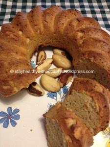 Low Carb Nussgugelhupf ohne Butter oder Öl (Mandelmehl, Kokosmehl, gemahlene Nüsse)