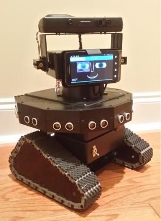 """Super Droid Bot """"Anna"""" - w/ Learning AI 