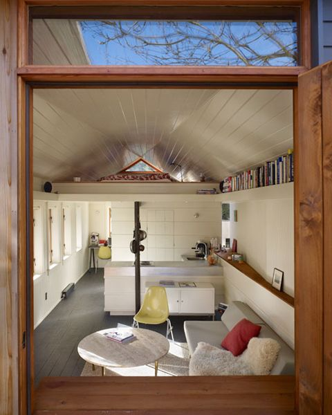 Garage Conversion By Shed Architects. 300 sf.