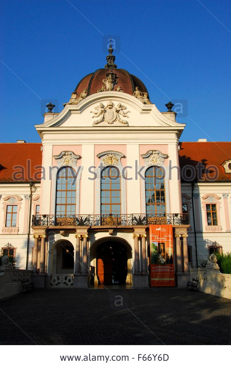Godollo castle; royal palace; Gödöllő, Hungary
