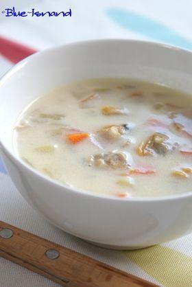 大好き!♡クラムチャウダー♡ http://cookpad.com/recipe/646836