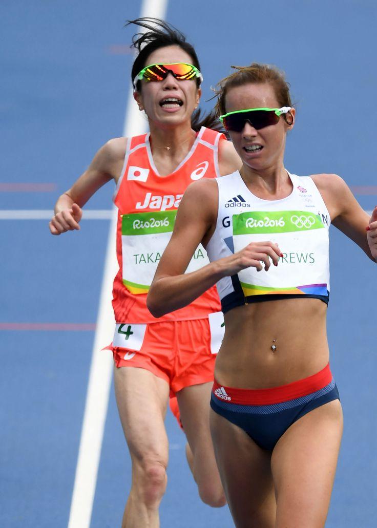 五輪陸上 女子1万メートル 18位の高島、落胆 #陸上 #リオ五輪