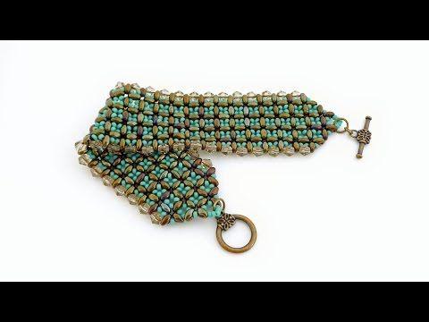 TheHeartBeading: Twin Bracelet Tutorial - YouTube