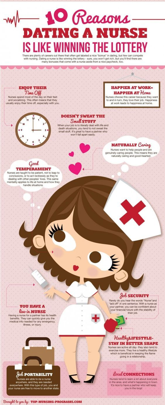 The Many Benefits of Dating a #Nurse – #Infographic by top-nursing-programs.com via @Infographics Archive