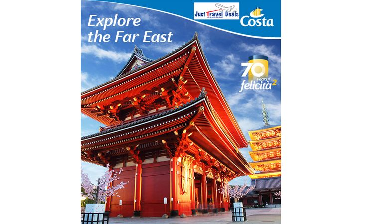 Travel to Japan and Taiwan with Costa Cruises