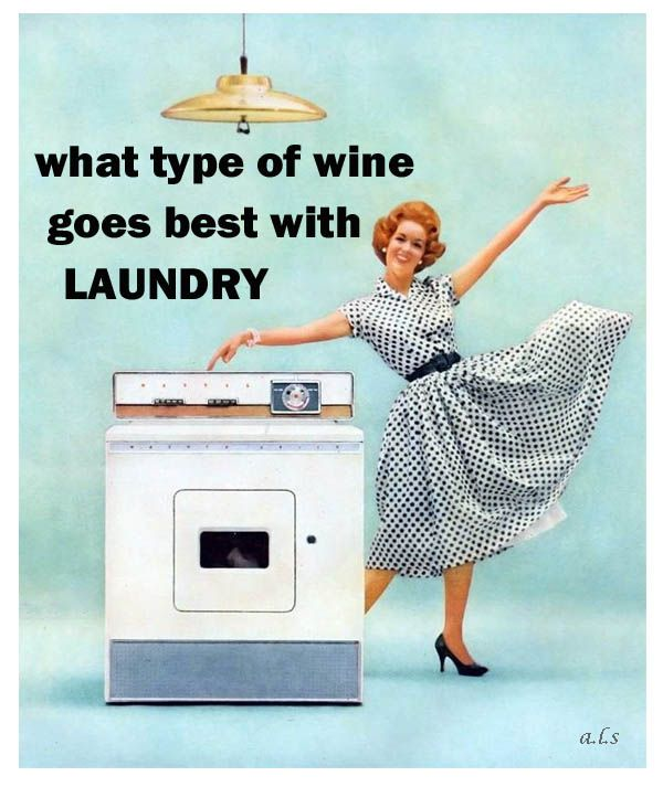 Technically, I do all my laundry when I first wake up.  But this is still hilarious!! 0;-)