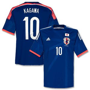 d6059ace3 ... team guide and Adidas Japan Home Kagawa No.10 Kids Shirt 2014 2015 Japan  Home Kagawa No.