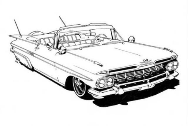 lowrider coloring pages Google