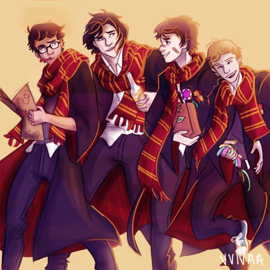 marauders... I love how normal Peter looks in this