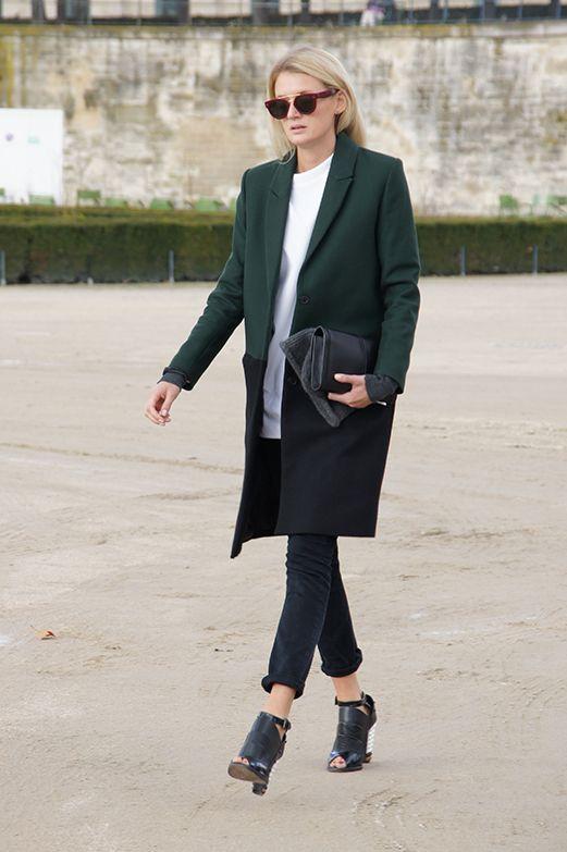 Street fashion: Paris Fashion Week jesień-zima 2014/2015, fot. Karolina Błaszkowska/www.bleidu.com/blaszkowska