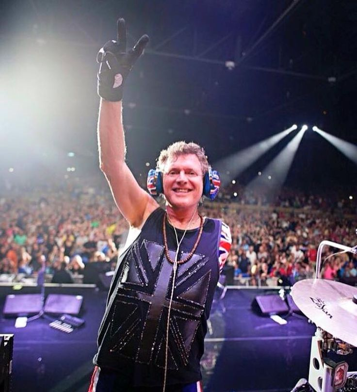 Def Leppard - Rick Allen, Ready to Rock Tonight at the Blossom Music Center! | 2016-08-29
