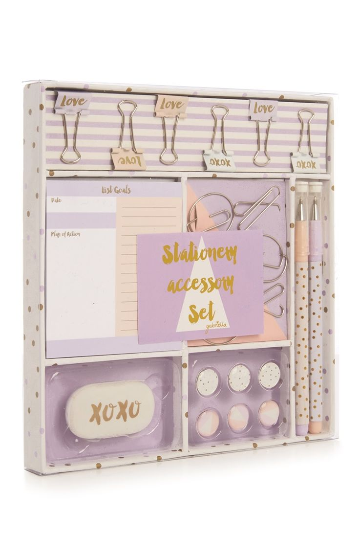Primark - Favourites Gabriella Geo Stationery Set