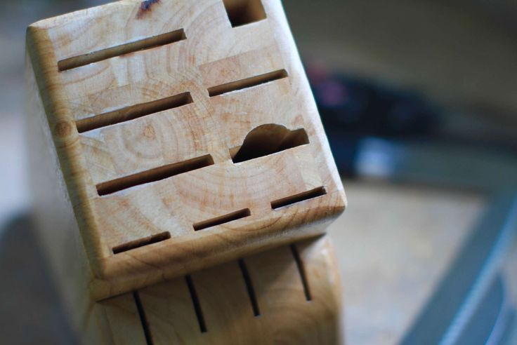 Stop bacteria from building up in your knife block