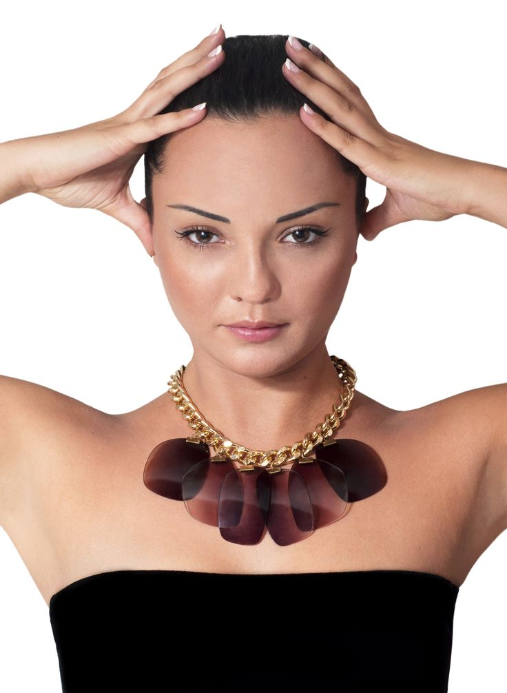 TRASH4FLASH Statement Necklace // Fall Winter 2013-2014 // INSIGHT Collection // PHOTOGRAPHY & EDITING Albina Shumkova // MAKE-UP Stella Gioka // MODEL Nina Tokareva // View & Buy @ www.trash4flash.bigcartel.com // www.trash4flash.com // #trash4flash #fashion #jewellery #necklace #FW1314 #collections