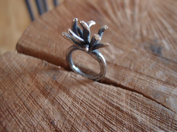 THE FIRE..  silver ring www.guldoggalleri.dk