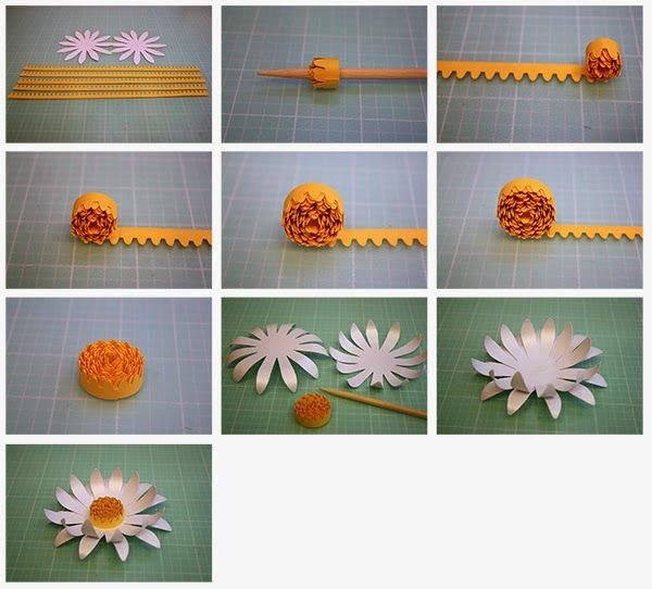 Are you ready for more paper flowers?   Let'sstart with my new Marigolds!     Marigold :           This file comes with all the pieces yo...