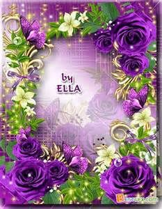 Photoshop Flower Frame - Bing images