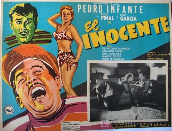 Silvia Pinal-Pedro Infante-El inocente.