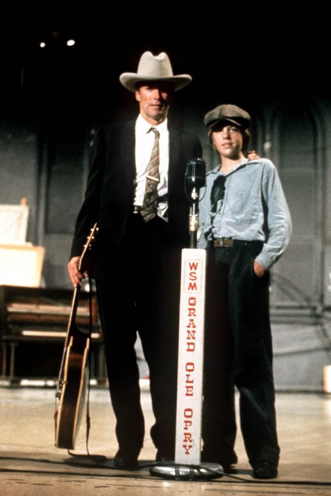 "Clint Eastwood, Kyle Eastwood in ""Honkytonk Man"" (1982). Director: Clint Eastwood."