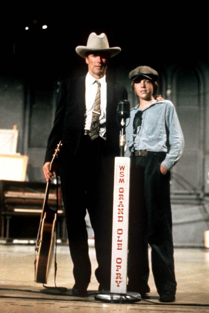 "Clint Eastwood, Kyle Eastwood in ""Honkytonk Man"" (1982). Director: Clint Eastwood."