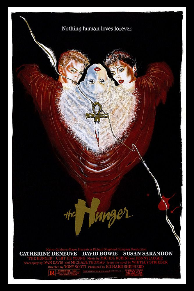 Pin By Antonio Marin On Monstermunsterdaddums Vampire Movies Movie Posters Vintage The Hunger Film