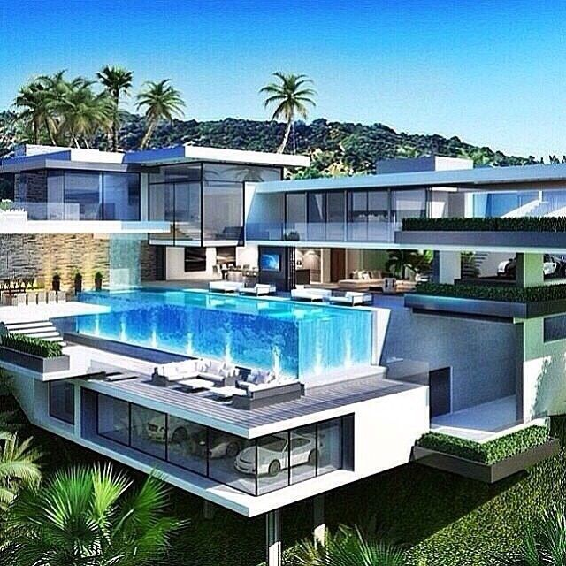 Los Angeles California Rich Houses: When I'm Going To Be A Billionaire.... This Would Be My