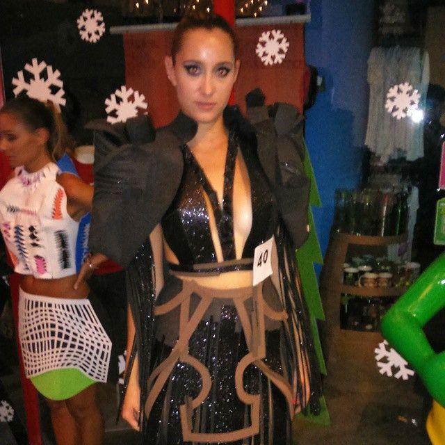 Vestido confeccionado 100%  #foami Inspiración CUBISMO #cubismo