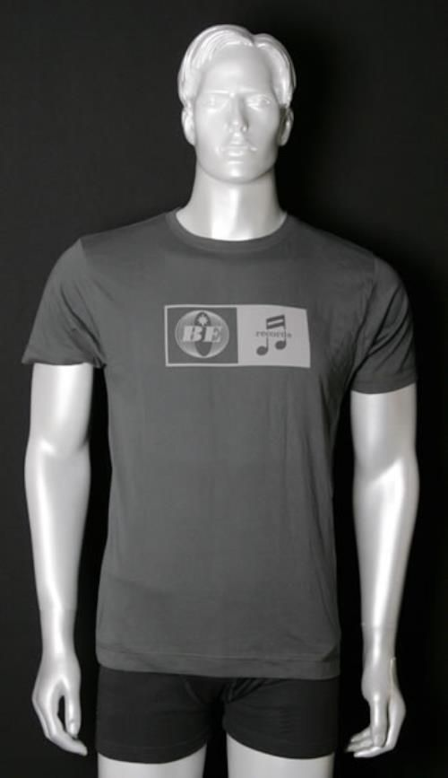 Beady Eye Beady Eye Records 2011 UK t-shirt PROMO T-SHIRT: BEADY EYE Beady Eye Records (2011 UK promotional-only T-shirt featuring the cool…
