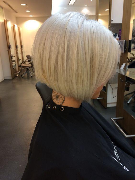 Best Blonde Bob Hairstyles for Fine Hair | Edgy Bob | Bob hairstyles ...