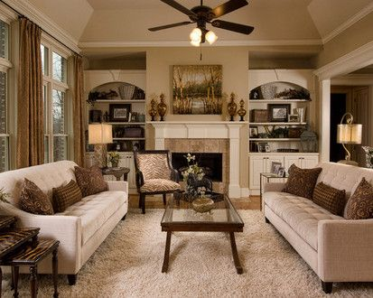 Dining Room To Family Room, Traditional Family Room, San Diego