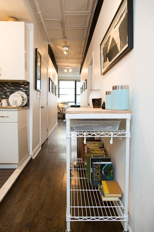A Great Customizable Kitchen Cart (With Drawers!) for a Small Kitchen — Kitchen Tour | The Kitchn