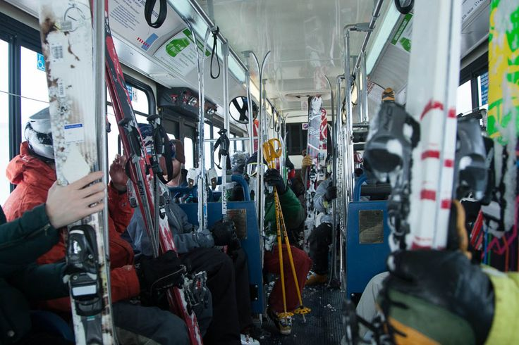 A list of eight ways skiers can reduce their carbon footprint.