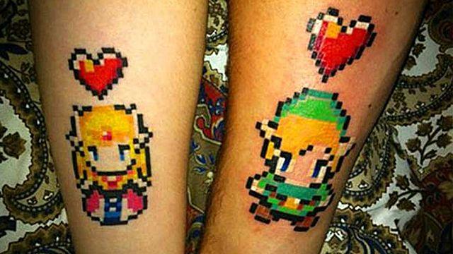 5 Amazing Retro Video Game Tattoos