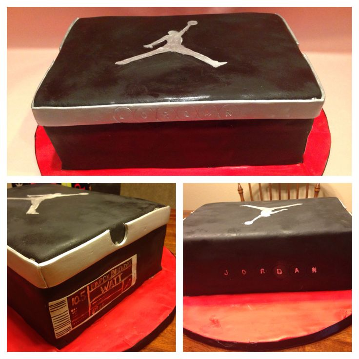 Jordan Shoe Box Cake Frosted Pink Cake Co Fpcc