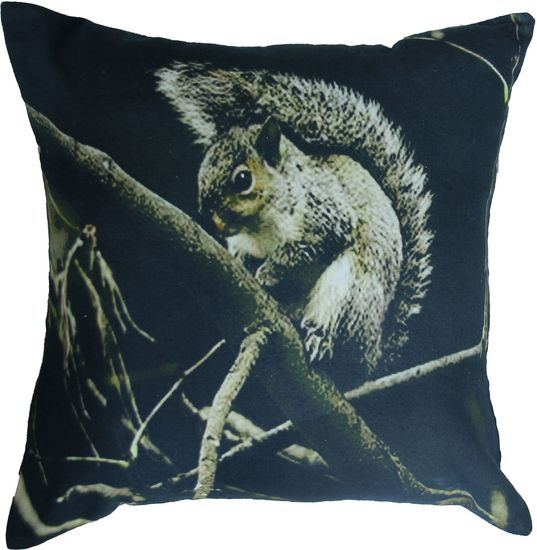 The Squirrel Toss Cushion from Urban Barn is a unique home decor item. Urban Barn carries a variety of Pillows and other  products furnishings.
