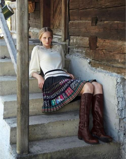 Slovak skirt