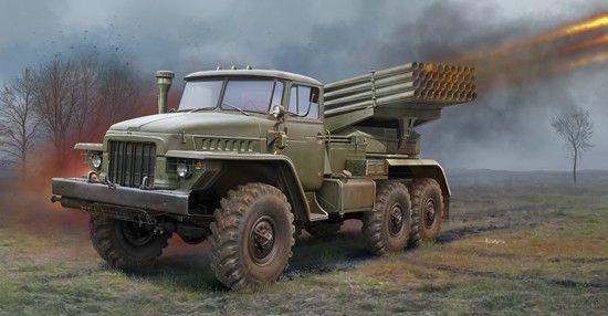 Trumpeter 1:35 - Russian BM-21 Grad Multiple Rocket Launcher TRU01028 #Trumpeter