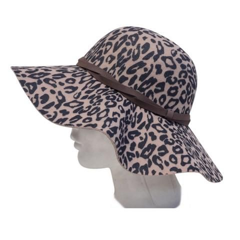 Women's Beige Vegan Hat