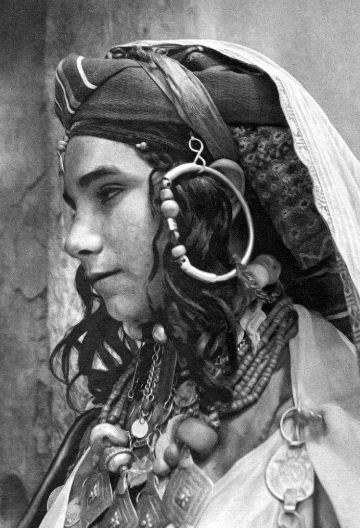 "Africa | ""Jewish Ksar Es Souk. Adornment Day."" 