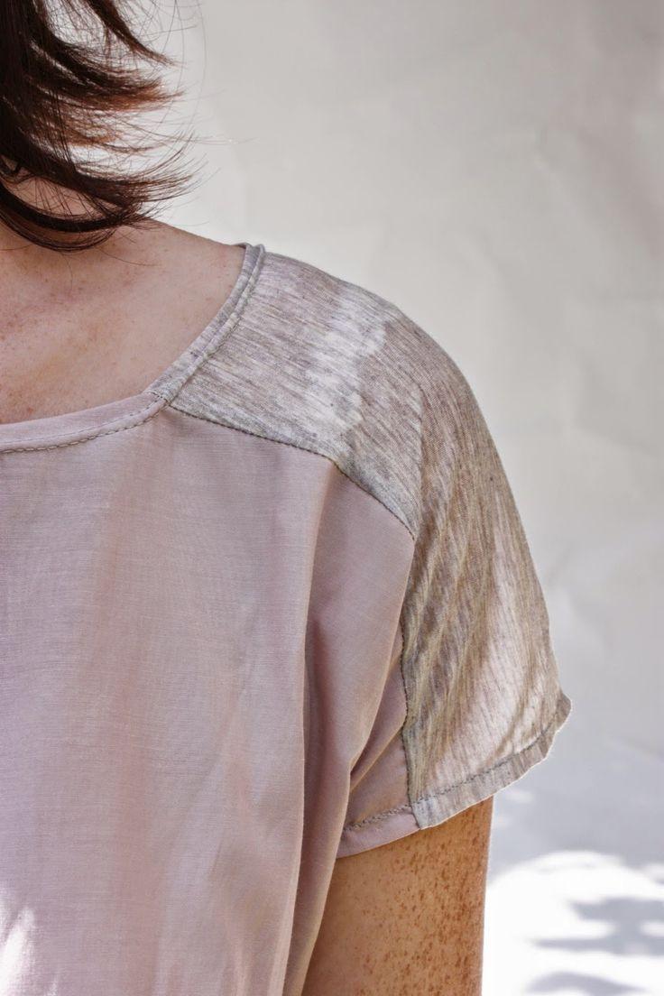 voor topje op de rok voor de trouw: stukje stof van de rok op de schouder inzetten?