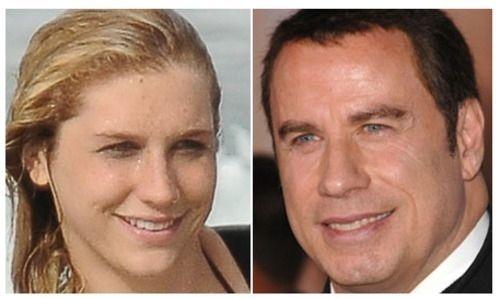 Kesha and John Travolta are really the same person. LOOK! LOL