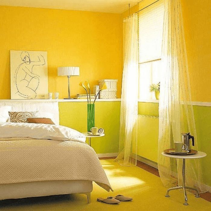 Die besten 25+ Gelbes Schlafzimmer Ideen auf Pinterest Gelbe - schlafzimmer orange