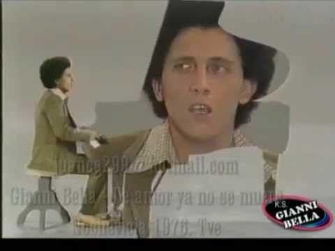 Gianni Bella - De amor ya no se muere (Tve 1976) Audio Hq