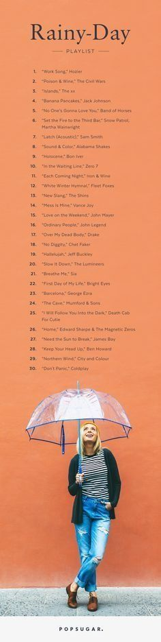 The Perfect Playlist For a Rainy Day